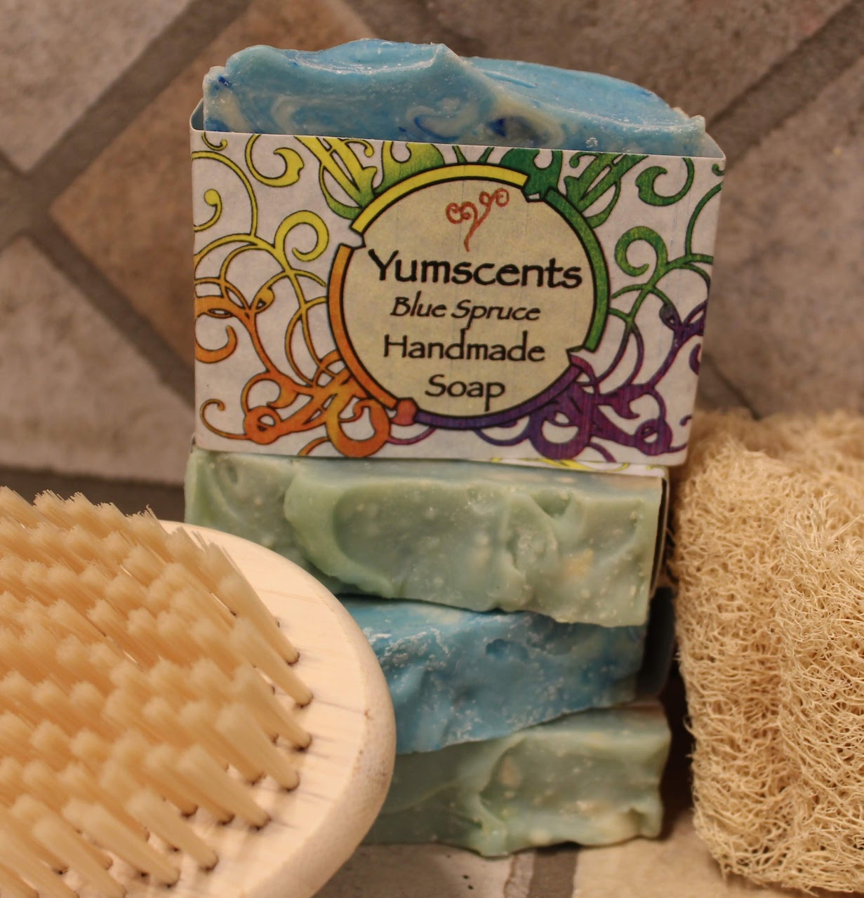 Blue Spruce Vegan Soap