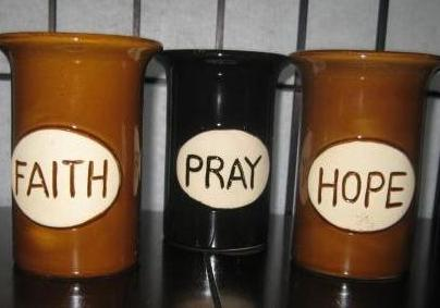 Faith, Hope, Pray Scent Warmers