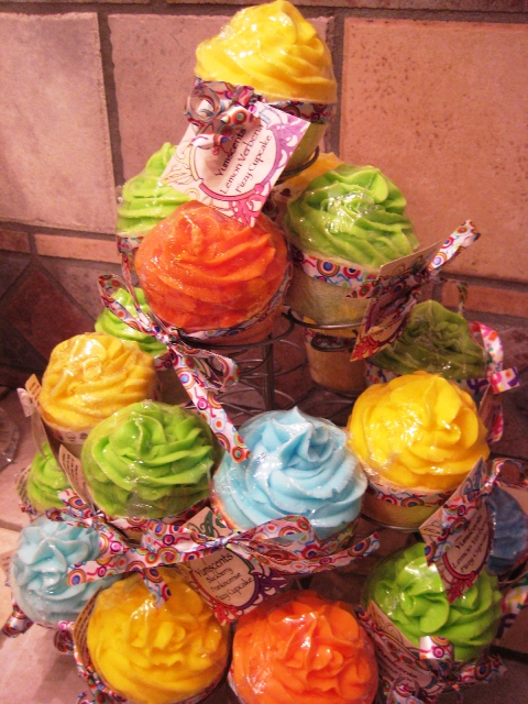 Fizzy Cupcakes