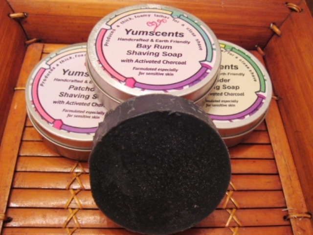 Shaving Soap with Activated Charcoal
