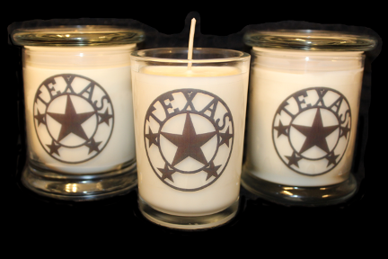 Texas Star Candles